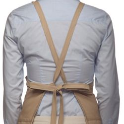 Criss Cross Back 3-Pckt Bib Apron Thumbnail