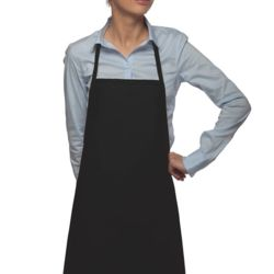 Loop Neck No-Pocket Bib Apron Thumbnail