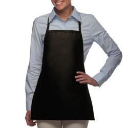 Promo No-Pocket Bib Apron Thumbnail