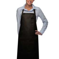 Pencil Pocket 3-Pocket Butcher Bib Apron Thumbnail