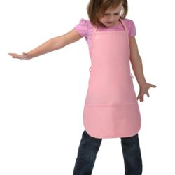 2-Pocket Child's Bib Apron Thumbnail