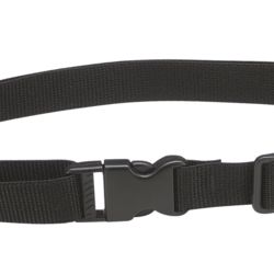 Black Webbing Belt Thumbnail