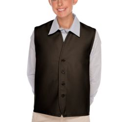 No Pocket Unisex Vest w/ 4-Button Closure Thumbnail