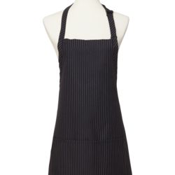 Gangster Stripe Center Pocket Bib Apron Thumbnail