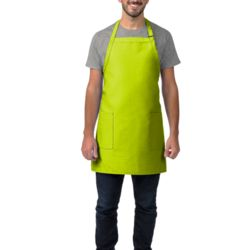 2-Patch Pocket Bib Apron Thumbnail